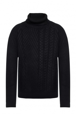 Cashmere turtleneck sweater od Haider Ackermann